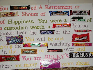 retirement candybar poems | just b.CAUSE
