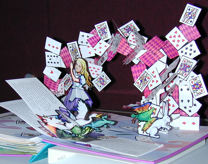 Folded and now look!: Pop up books