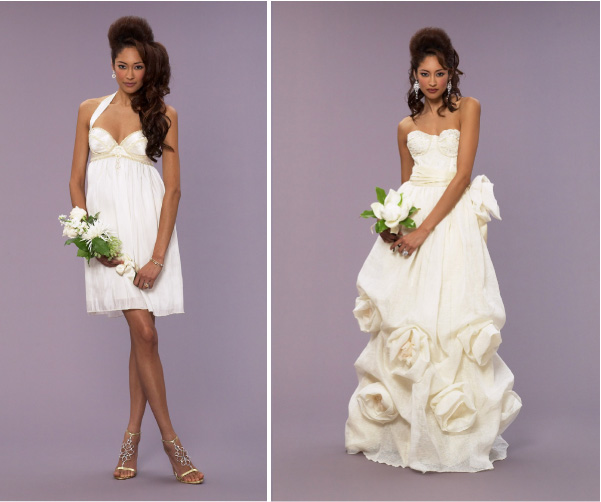 Selection of wedding dresses to be very suitable flowering with feelings