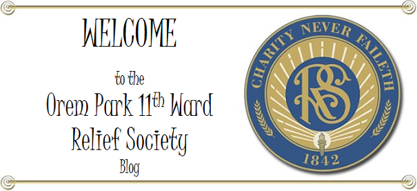 11th Ward Relief Society