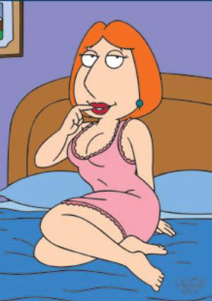 lois griffin naked