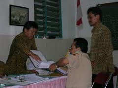SMP Kebon Dalem saat akreditasi