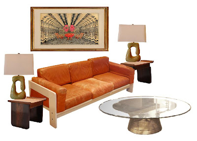 Site Blogspot  Living Room Furniture Price on Tobia Scarpa Bastiano Sofa   Italy  1960 S   Price   8 500