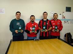 Campeão da 1ª Copa Campo dos Bugres de Futebol de Mesa - Categoria Lisos - 2009 - AFM Caxias