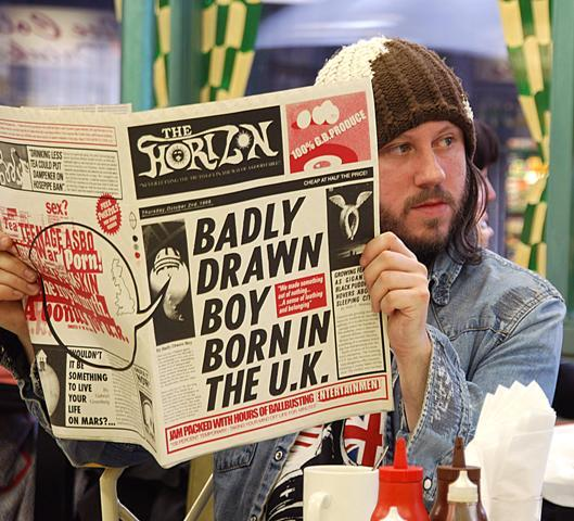 """Badly Drawn Boy – """"Is there nothing we could do?"""