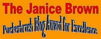 The Janice Brown Puckerbrush Award