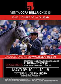 Venta Copa Bullrich 2010