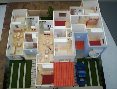 Cr estudio de arquitectura galer a maqueta para casas for Materias de la carrera arquitectura