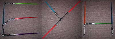 Exfanding Your Horizons logo in lightsabers