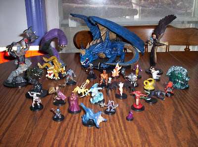 D&D Miniatures collection