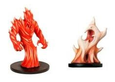 Older fire-themed D&amp;D Miniatures