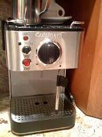 Cappuccino/espresso maker