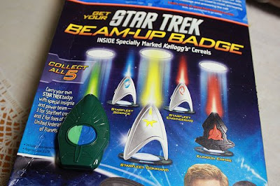 Star Trek Beam-Up Badge