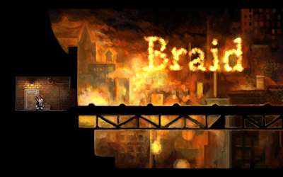 Braid title screen