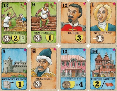 Saint Petersburg expansion cards