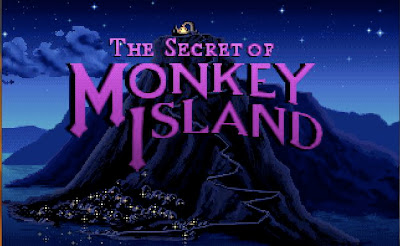 Secret of Monkey Island title screen