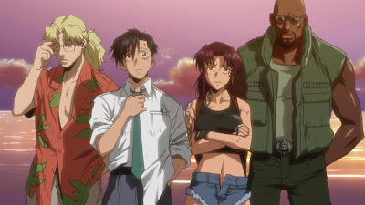Main Characters of Black Lagoon