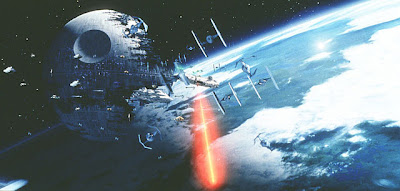 Return of the Jedi Space Battle