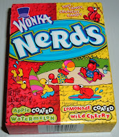 Box of Nerds candy