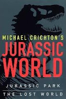 Jurassic World book cover