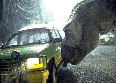 Jurassic Park - T-Rex attack