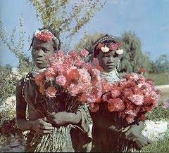 Mulheres indigenas do Lubango