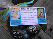 Rock My World Rocks  Available at Patti Digh's Designs for Life shop