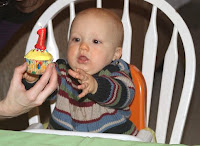 R's 1st b-day, photo by TGS