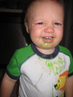 Crayons don't taste good