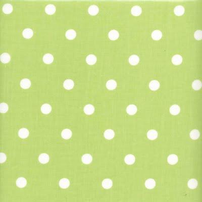 some like it dot my green polka dot oilcloth