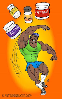 ROBBY AND HIS NATURAL ANABOLIC SUPPLEMENTS MUSCLE ANIMATION BY ART BINNINGER www.robbyrobinson.net/anabolic-pack.php