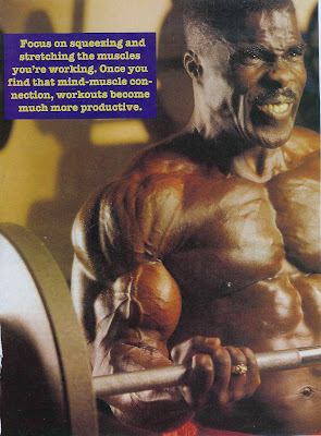 ROBBY ROBINSON - BARBELL BICEPS CURLS -  IRONMAN MAGAZINE, JULY 1993 BUILT- Instructional Double DVD - Robby's philosophy on bodybuilding,  training and healthy lifestyle, and his old-school workout approach  ▶ www.robbyrobinson.net/dvd_built.php