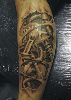 3d tattoo terminator