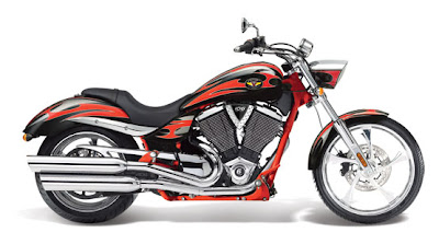New 2011 Victory  Vegas Jackpot Red