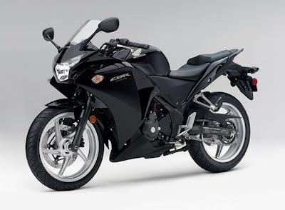New 2011 Honda CBR250R ABS-black