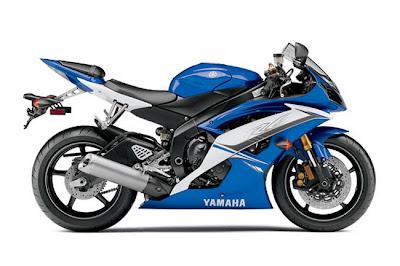 2011 Yamaha YZFR6 Blue
