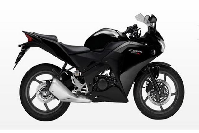 2011 Honda CBR125-R Asteroid Black Metallic