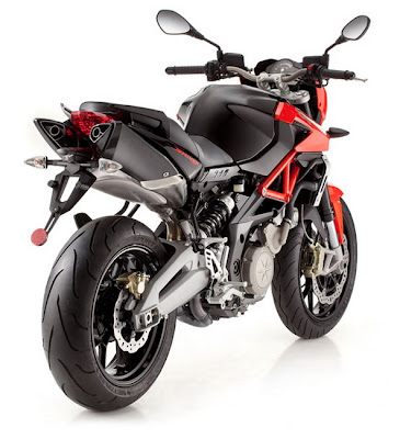 New 2011 Aprilia Shiver 750 Red