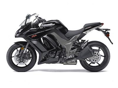 2011 Kawasaki Ninja Z-1000 black