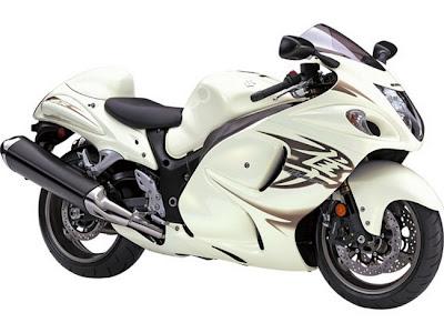 2011 Suzuki Hayabusa albino