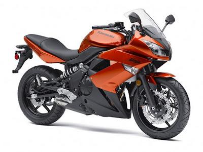 Kawasaki Ninja650-R Candy Burnt Orange