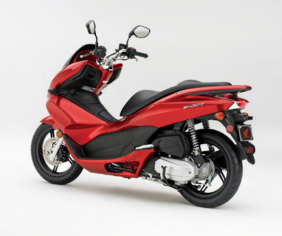 2011 Honda PCX125 red Usa