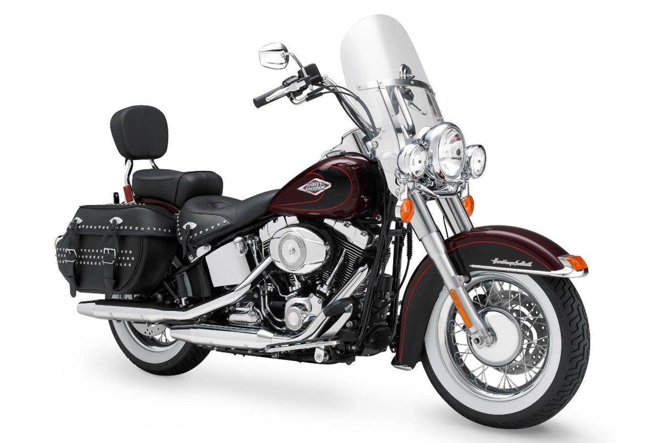 2011 Harley Davidson Flstc Heritage Softail 174 Classic New