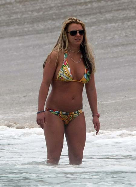 britney spears put on weight