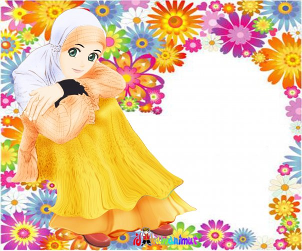 wallpaper muslimah cartoon. wallpaper muslimah. wallpaper kartun islam. gambar