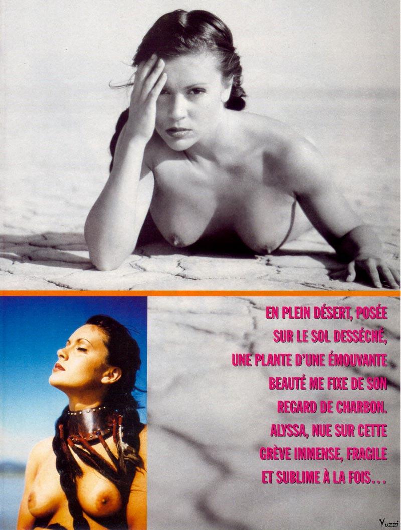 from Cristopher alyssa milano nude bikini