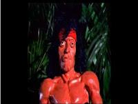 Rambo direto do clip do Green Jelly
