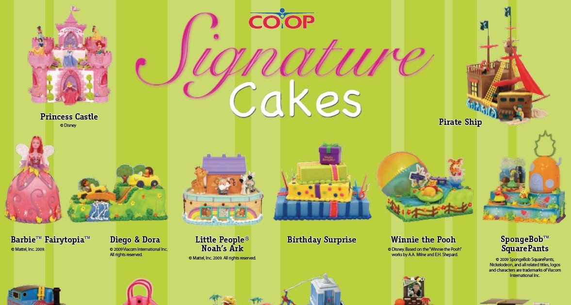 The Party Witch Calgary Co Op Signature Cakes