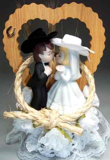 wedding cake decorations knot