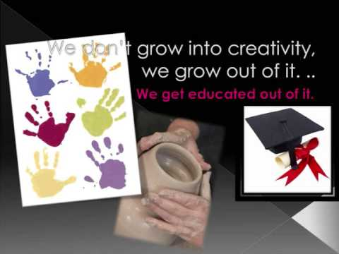 school kills creativity ken robinson Ken robinson is one of the world's  the internationally recognized leader on creativity and human potential focuses on  you, your child, and school.